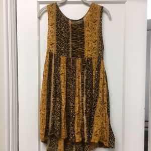 MINKPINK Animal Print Dress S